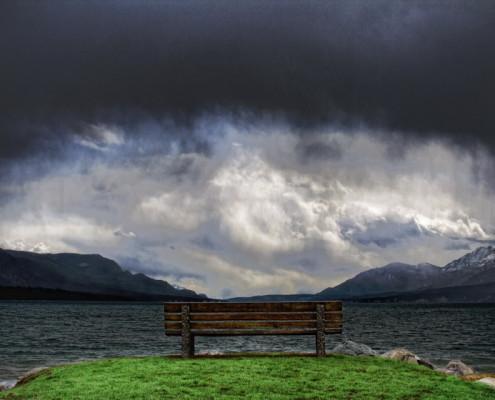 MonteThePhotographer_FineArt_ColumbiaLake Bench_840x560